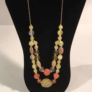Jewelry - Beaded chain necklace